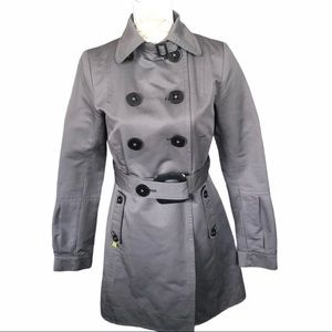 Soia & Kyo Belted Trench Coat Excellent Condition